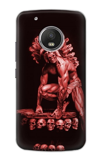Printed Red Indian Skull Apple iPod Touch 5G Case
