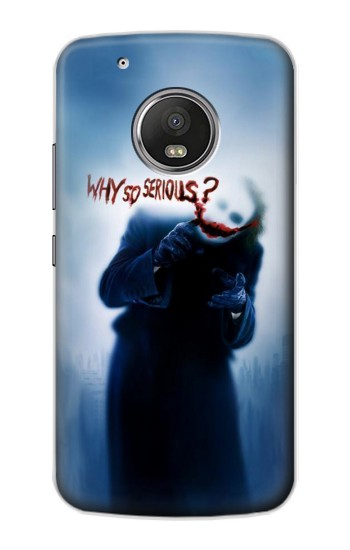 Printed Batman Joker Why So Serious Apple iPod Touch 5G Case