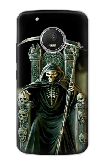 Printed Grim Reaper Skeleton King Apple iPod Touch 5G Case