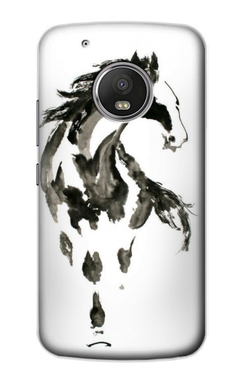 Printed Horse Paintbrush Apple iPod Touch 5G Case