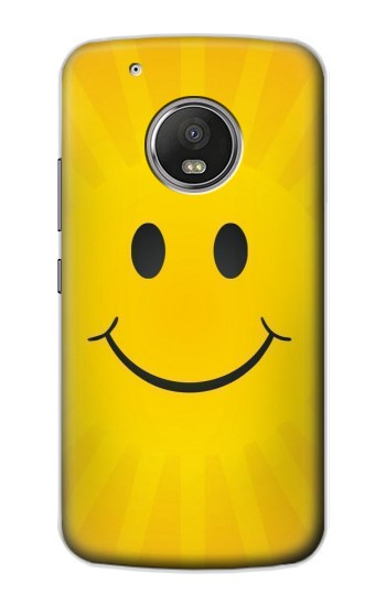 Printed Yellow Sun Smile Apple iPod Touch 5G Case