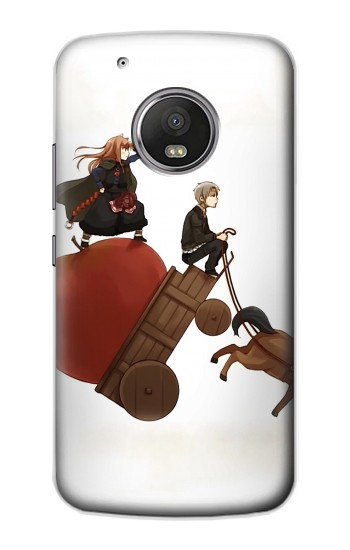 Printed Spice and Wolf Horo Lawrence Apple iPod Touch 5G Case