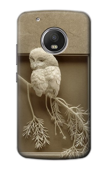 Printed Paper Sculpture Owl Apple iPod Touch 5G Case