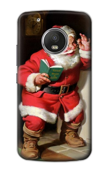 Printed Santa Claus Merry Xmas Apple iPod Touch 5G Case