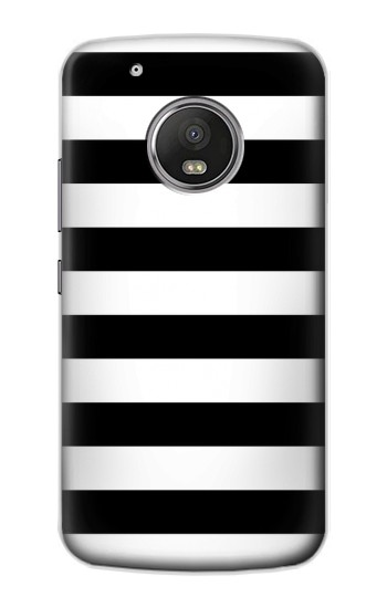 Printed Black and White Striped Apple iPod Touch 5G Case