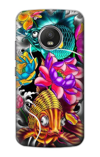 Printed Fish Japanese Oriental Tattoo Apple iPod Touch 5G Case