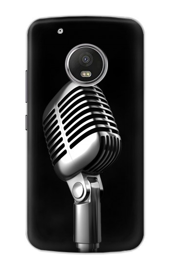 Printed Retro Microphone Jazz Music Apple iPod Touch 5G Case