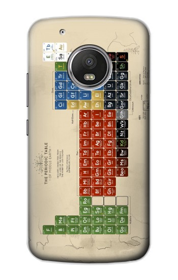 Printed The Periodic Table of Middle Earth The Lord of The Rings Apple iPod Touch 5G Case