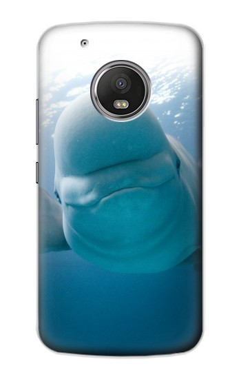 Printed Beluga Whale Smile Whale Apple iPod Touch 5G Case