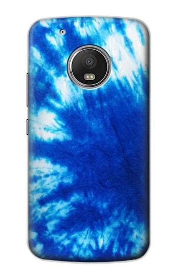 Printed Tie Dye Blue Apple iPod Touch 5G Case