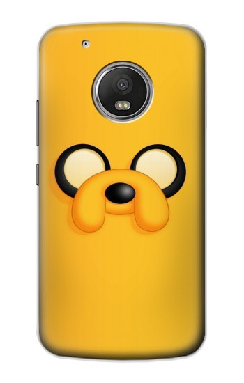 Printed Adventure Time Jake Face Apple iPod Touch 5G Case