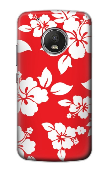 Printed Hawaiian Hibiscus Pattern Apple iPod Touch 5G Case