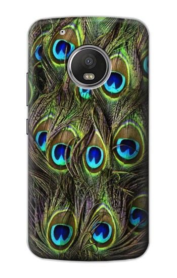 Printed Peacock Feather Apple iPod Touch 5G Case