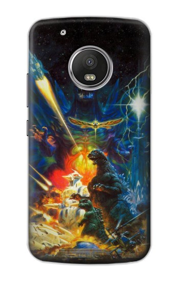 Printed Godzilla VS Space Godzilla Apple iPod Touch 5G Case