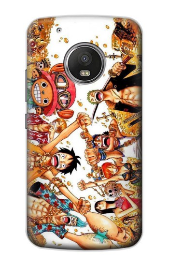 Printed One Piece Straw Hat Luffy Pirate Crew Apple iPod Touch 5G Case