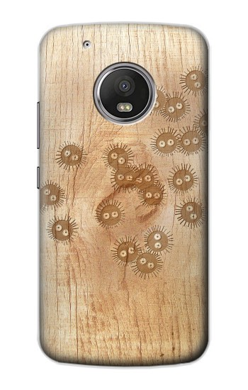 Printed Spirited Away Wood Art Graphic Printed Apple iPod Touch 5G Case