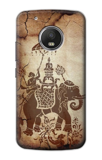 Printed Thai Art Buddha on Elephant Apple iPod Touch 5G Case
