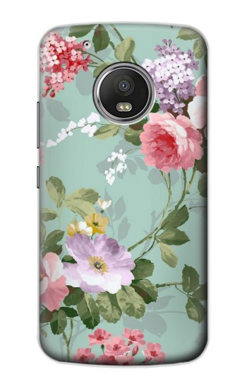 Printed Flower Floral Art Painting Apple iPod Touch 5G Case