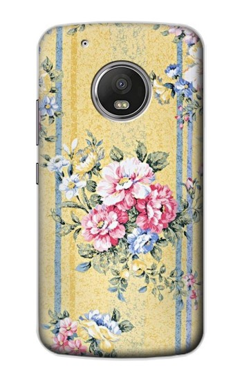 Printed Vintage Flowers Apple iPod Touch 5G Case