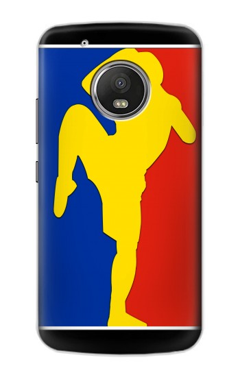 Printed Muay Thai Kickboxing MMA Martial Art Yellow Apple iPod Touch 5G Case