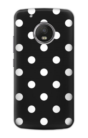Printed Black Polka Dots Apple iPod Touch 5G Case