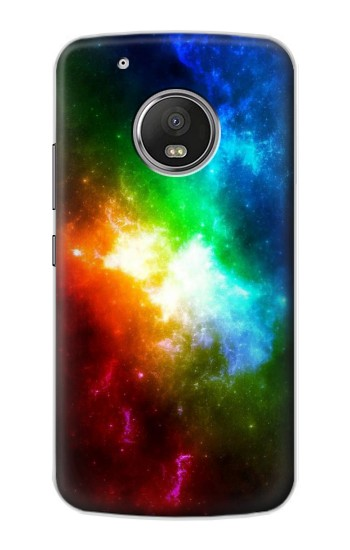 Printed Colorful Rainbow Space Galaxy Apple iPod Touch 5G Case