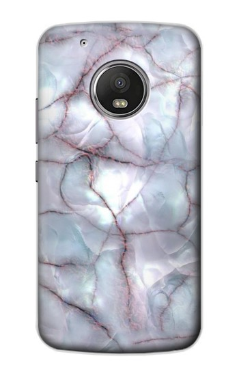 Printed Dark Blue Marble Texture Graphic Print Apple iPod Touch 5G Case