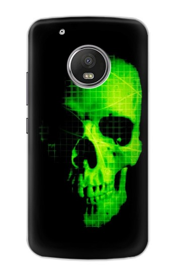 Printed Green Skull Apple iPod Touch 5G Case