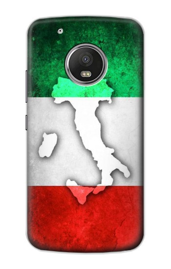 Printed Italy Flag Apple iPod Touch 5G Case