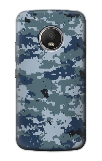 Printed Navy Camo Camouflage Graphic Apple iPod Touch 5G Case