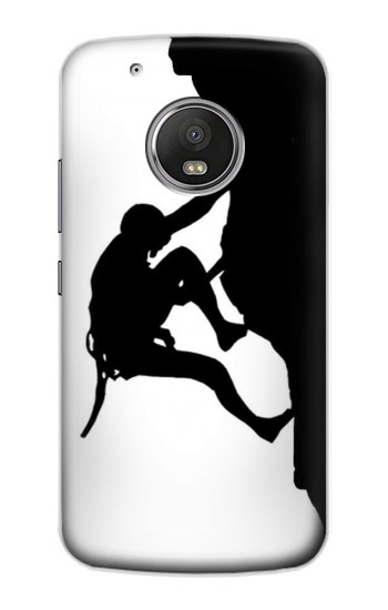 Printed Mountain Climber Climbing Apple iPod Touch 5G Case