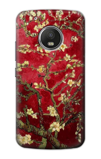 Printed Red Blossoming Almond Tree Van Gogh Apple iPod Touch 5G Case
