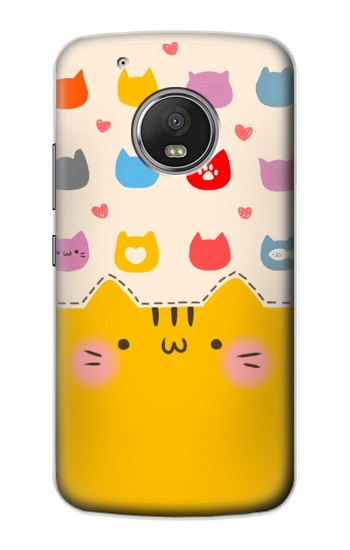 Printed Cute Cat Pattern Apple iPod Touch 5G Case
