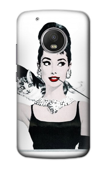 Printed Audrey Hepburn Breakfast at Tiffany Apple iPod Touch 5G Case