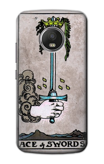 Printed Tarot Ace of Swords Apple iPod Touch 5G Case