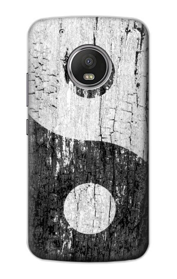 Printed Yin Yang Wood Apple iPod Touch 5G Case