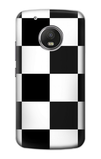Printed Black and White Checkerboard Apple iPod Touch 5G Case