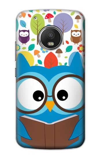 Printed Cute Owl Cartoon Apple iPod Touch 5G Case