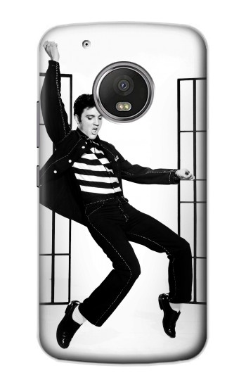 Printed Elvis Presley Jailhouse Rock Apple iPod Touch 5G Case