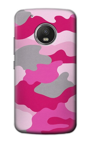 Printed Pink Camouflage Apple iPod Touch 5G Case