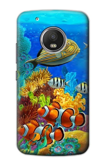 Printed Sea Seabed Fish Corals Underwater Ocean Apple iPod Touch 5G Case