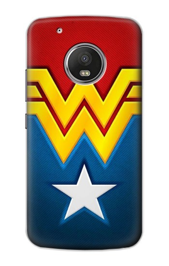 Printed Wonder Women Logo Apple iPod Touch 5G Case