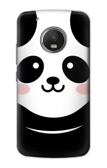 Printed Cute Panda Cartoon Apple iPod Touch 5G Case