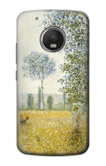Printed Claude Monet Fields In Spring Apple iPod Touch 5G Case