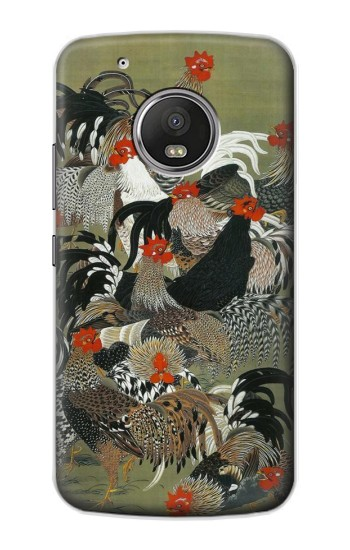Printed Ito Jakuchu Rooster Apple iPod Touch 5G Case