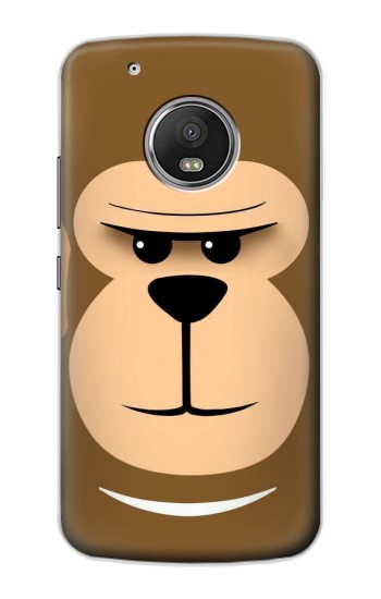 Printed Cute Monkey Cartoon Face Apple iPod Touch 5G Case