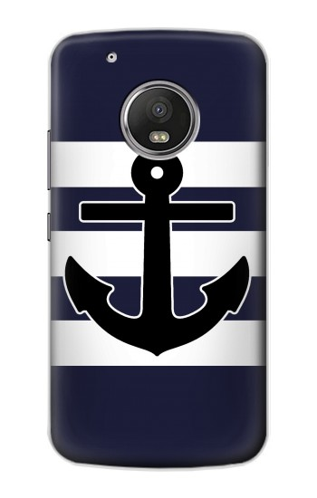 Printed Anchor Navy Apple iPod Touch 5G Case