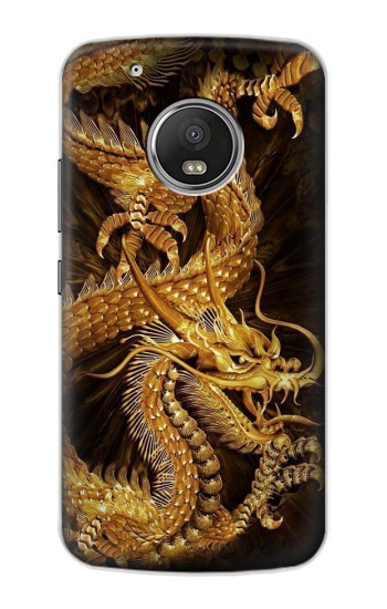 Printed Chinese Gold Dragon Printed Apple iPod Touch 5G Case