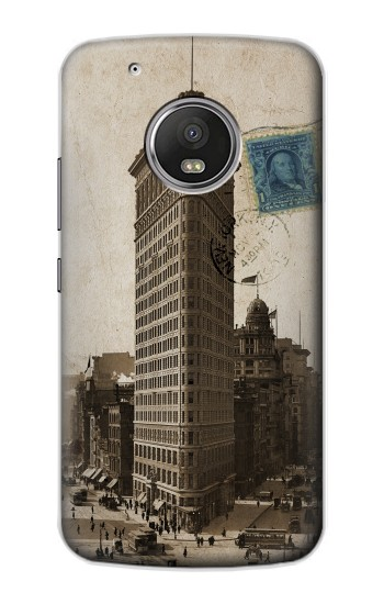 Printed New York 1903 Flatiron Building Postcard Apple iPod Touch 5G Case
