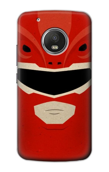 Printed Power Ranger Red Minimalist Apple iPod Touch 5G Case